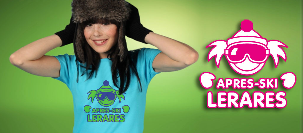 Apr�s-ski lerares t-shirts en party kleding